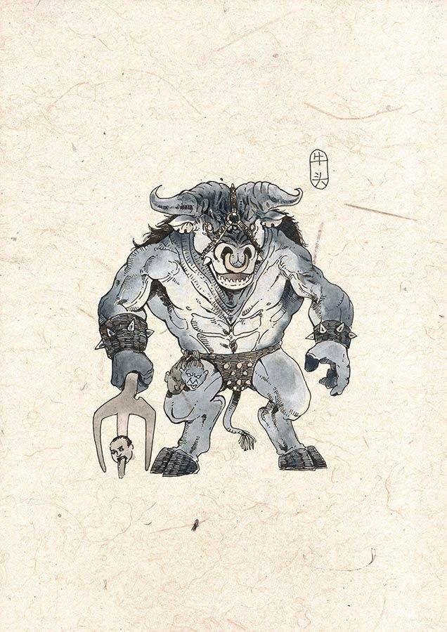 牛头阿旁插图(2)