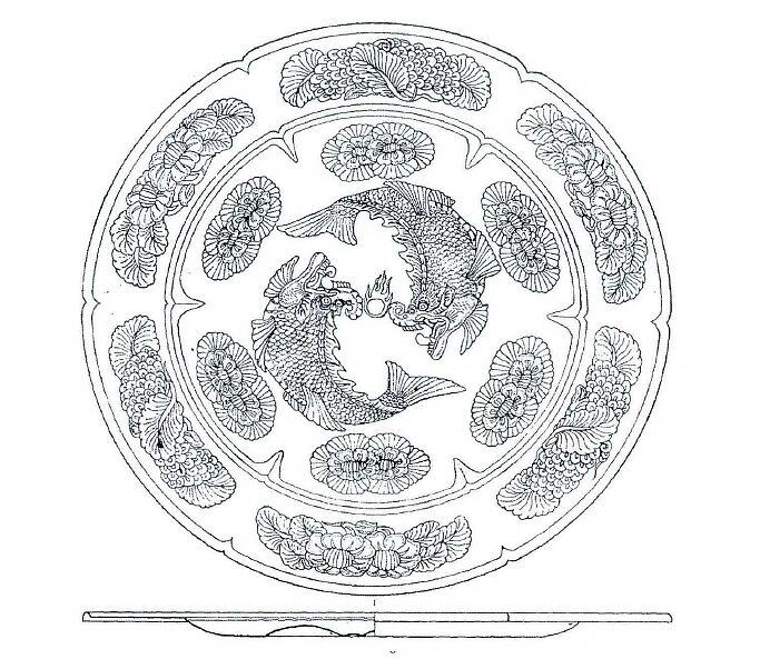 摩竭(摩伽罗)插图